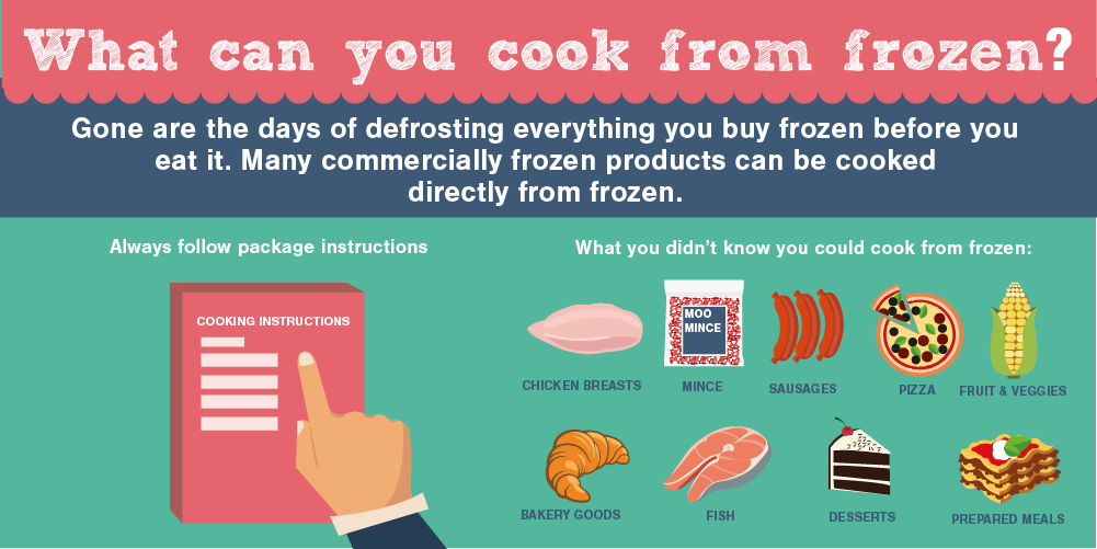 what can you cook from frozen
