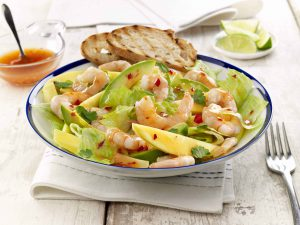 Prawn Avocado and Mango Salad